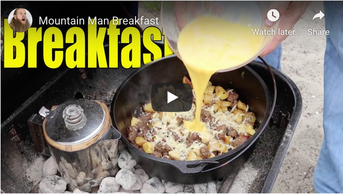 Mountain Breakfast Cooking