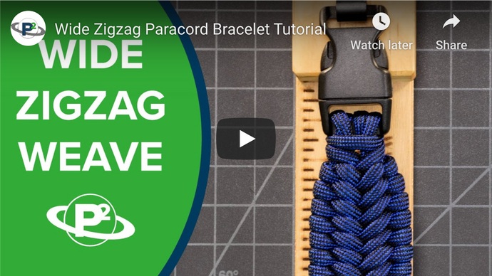 How to Make a Zigzag Paracord Bracelet