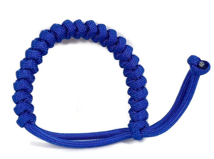 Engineered Royal Blue Rope Bracelet