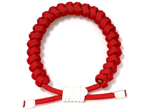 Engineered Lucky Red Rope Bracelet