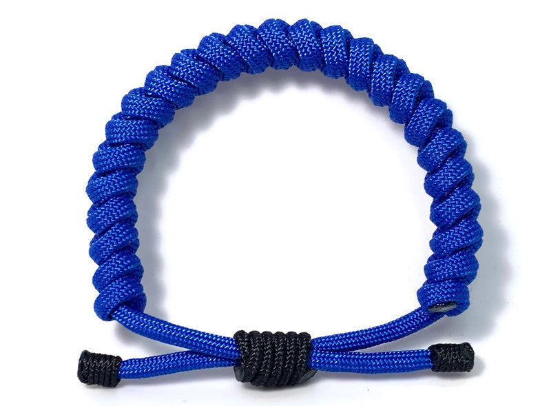 Engineered Electric Blue Rope Bracelet