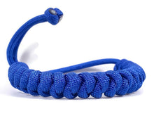 Load image into Gallery viewer, Engineered Royal Blue Rope Bracelet