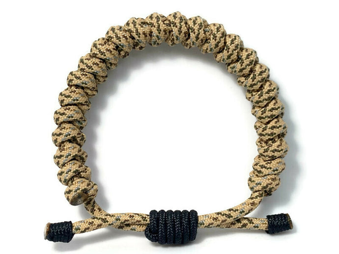 Engineered Desert Camo Rope Bracelet