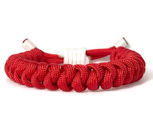Load image into Gallery viewer, Engineered Lucky Red Rope Bracelet