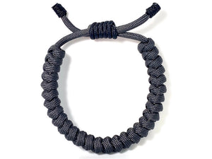 Engineered Gray Atom Rope Bracelet
