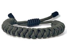 Load image into Gallery viewer, Engineered Warrior Rope Bracelet in Olive