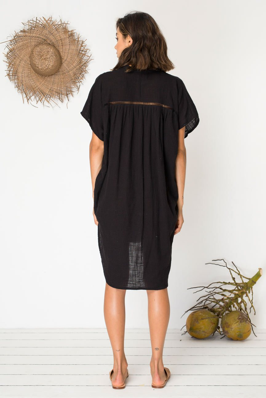 BIRD & KITE - ASTRAL DRESS - BLACK