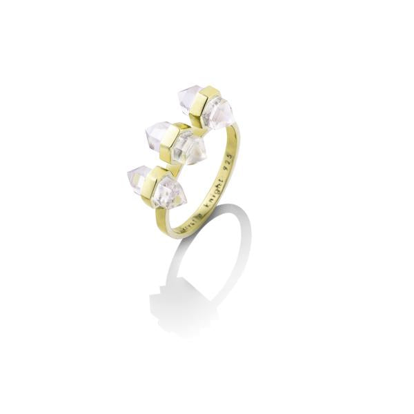 Krystle Knight -PURE LIGHT QUARTZ RING | CLEAR QUARTZ