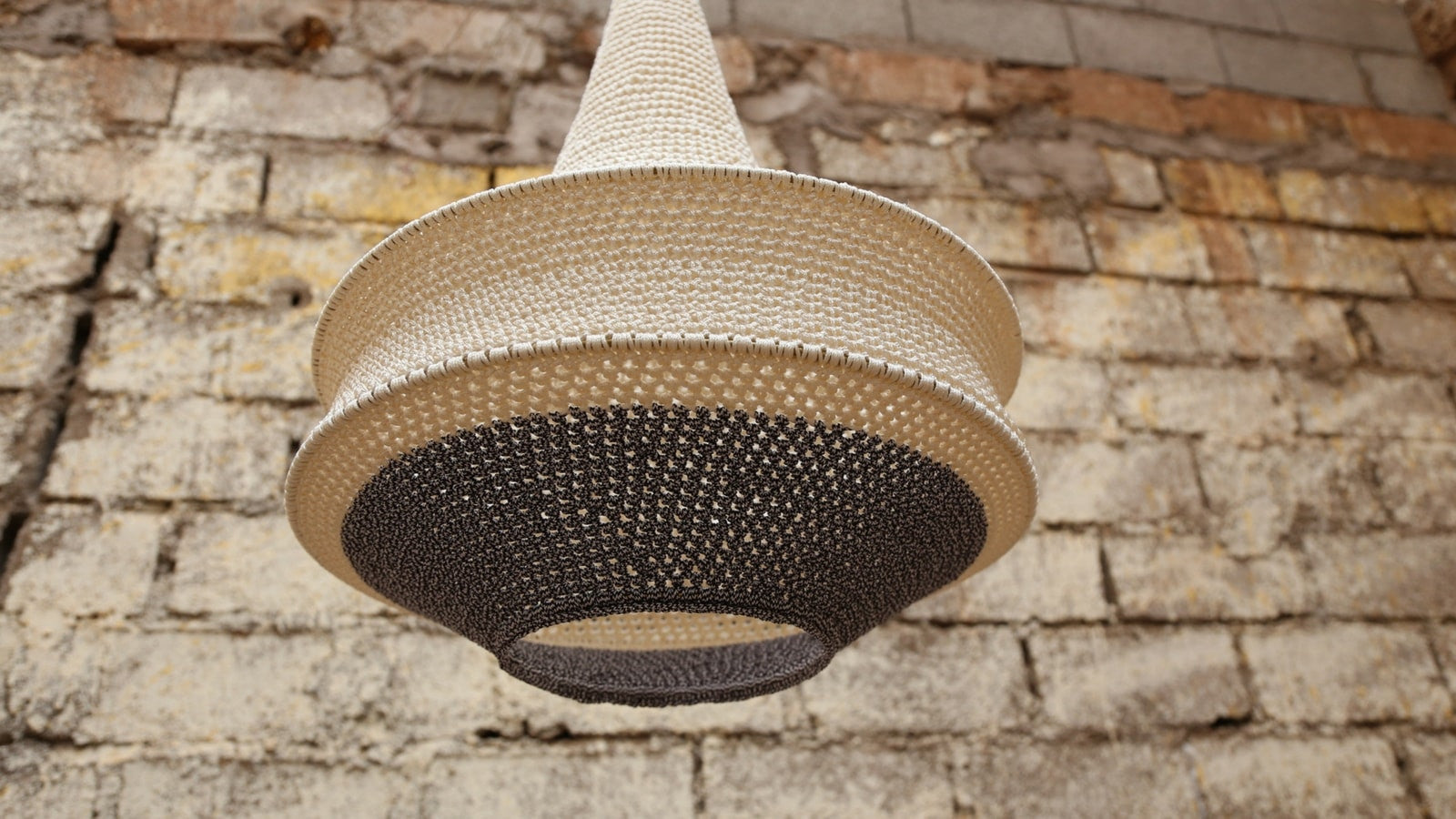 Hamimi design unique handmade crochet lighting