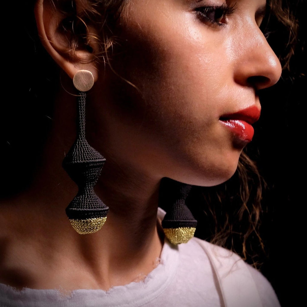 Large Joosh Earrings - Hamimi Design