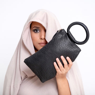 Hayat Clutch - Black