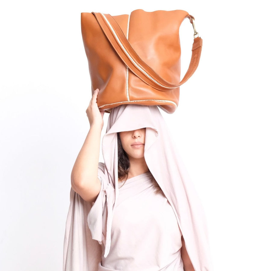 Sarma Bucket Bag - Cognac