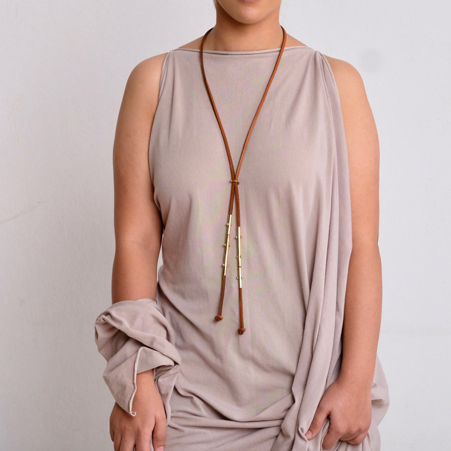 Hebba Tubes Necklace
