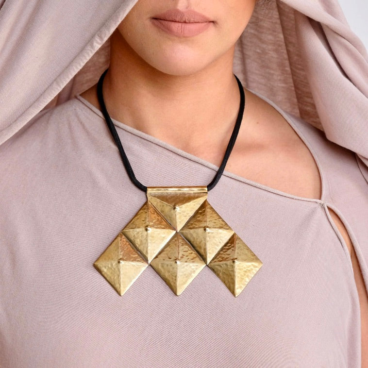 Hamia Chestplate Necklace