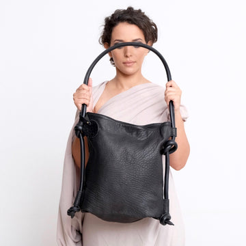 Hayat Backpack / Shoulder Bag - Black