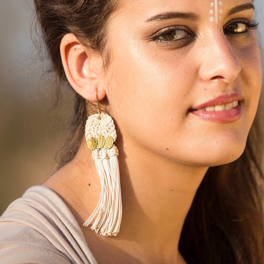 Handira Fringe Earrings