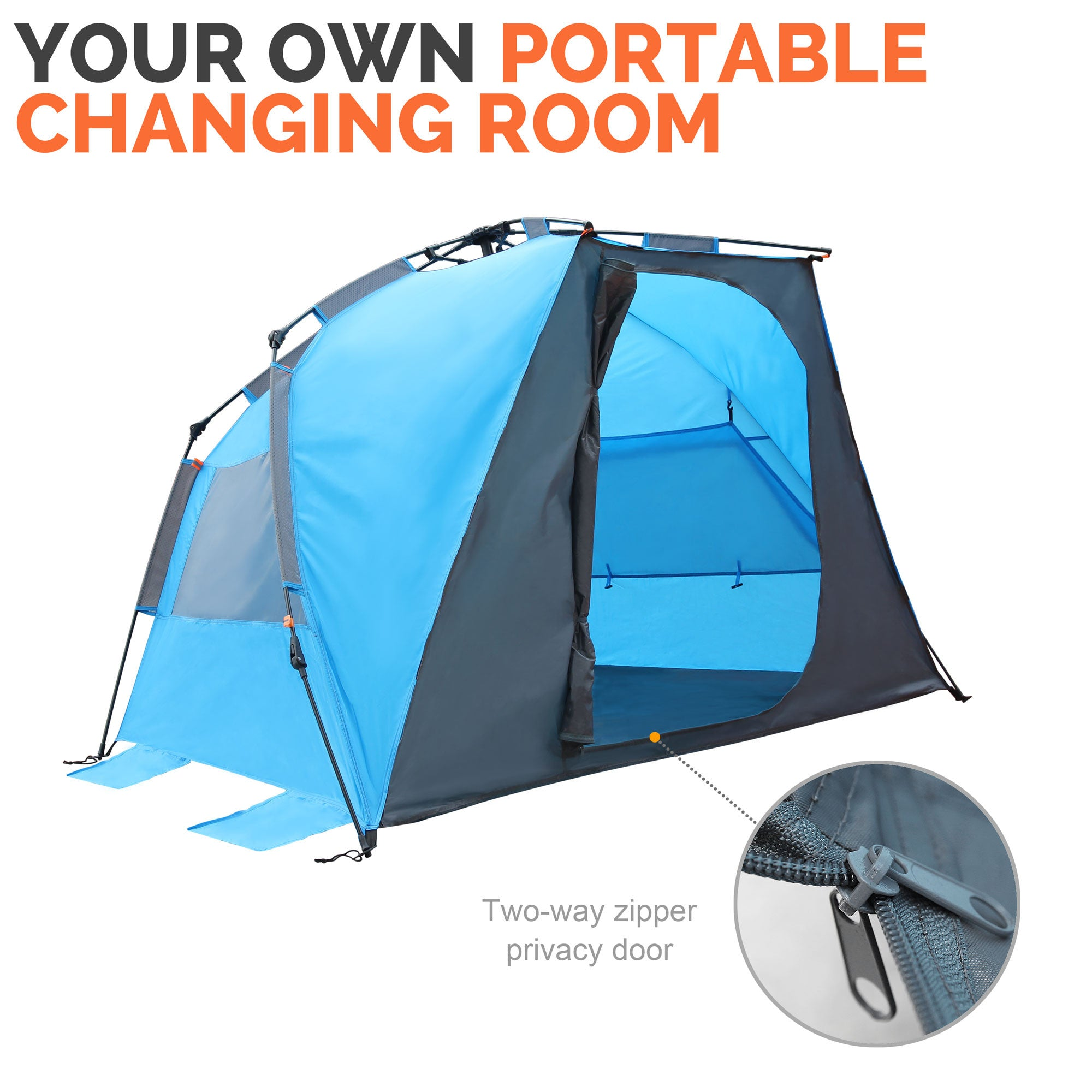 Pop-Up Beach Tent  sc 1 st  OutdoorMaster.com : easy pop up beach tent - memphite.com