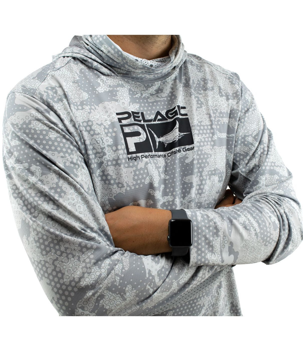 PELAGIC EXO TECH HOODY AMBUSH GREY