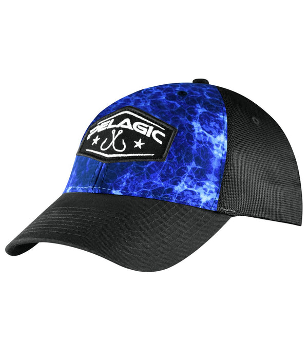 OFFSHORE CAP - HEX BLUE