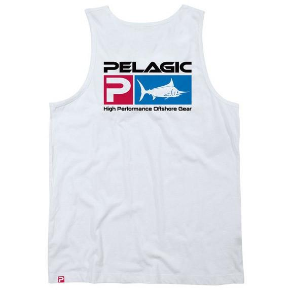 Pelagic Deluxe Logo Tank II - Fishing's Finest