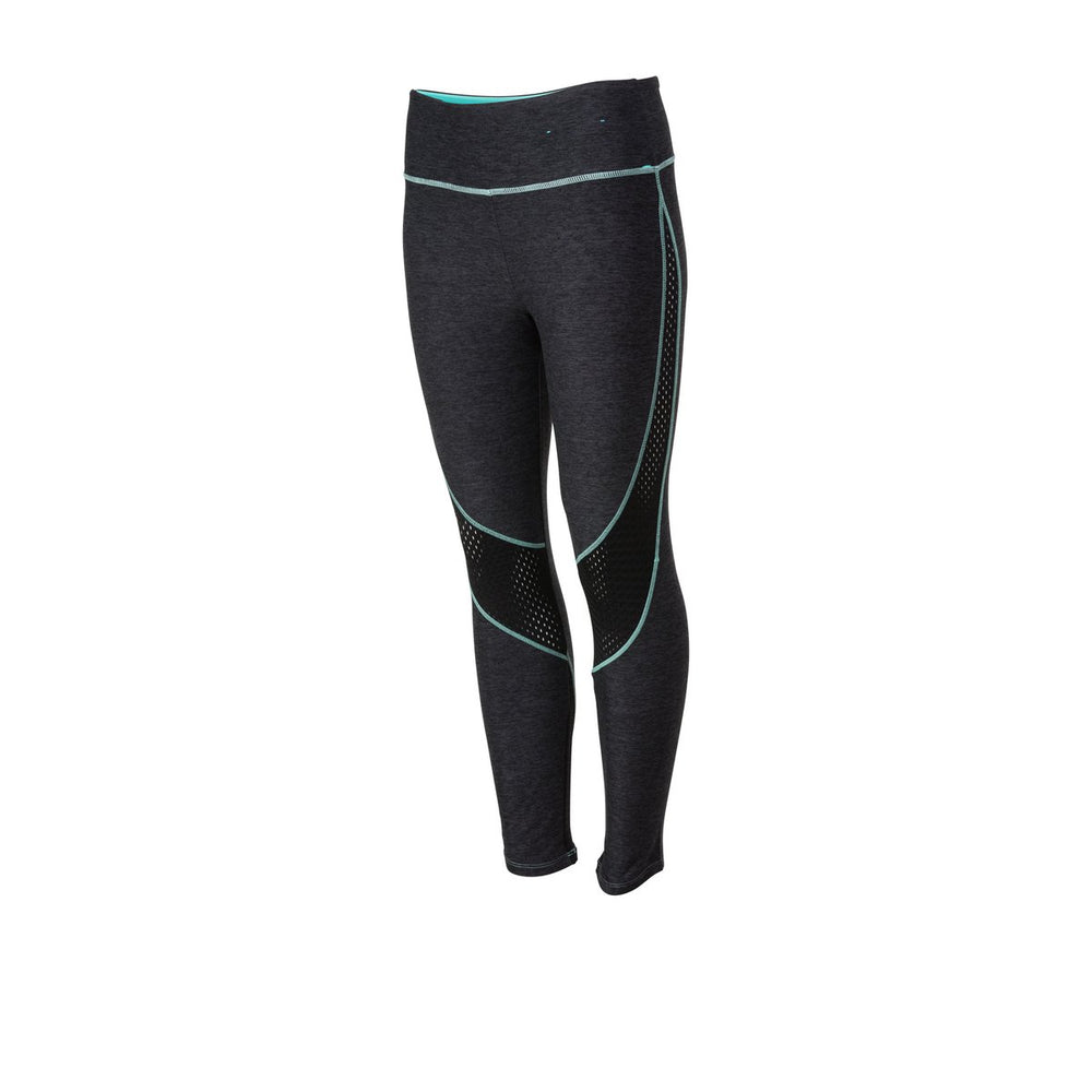 PELAGIC GEAR WOMENS PROFORM CAPRI HTR BLACK