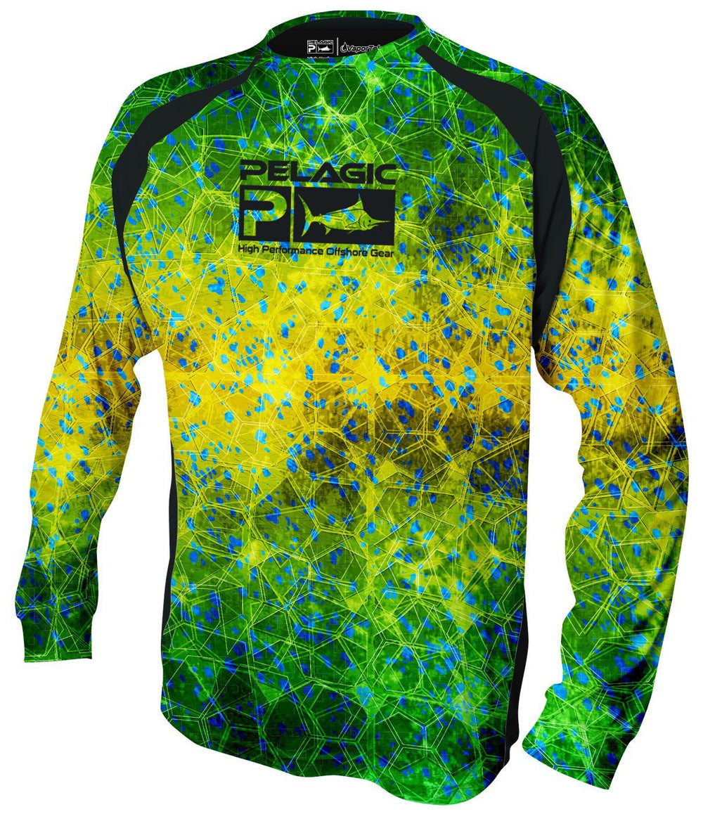 Pelagic VaporTek - Hex Dorado Green