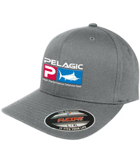 PELAGIC FLEXFIT DELUXE GREY