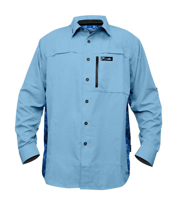 PELAGIC ECLIPSE GUIDE SHIRT PRO LIGHT BLUE