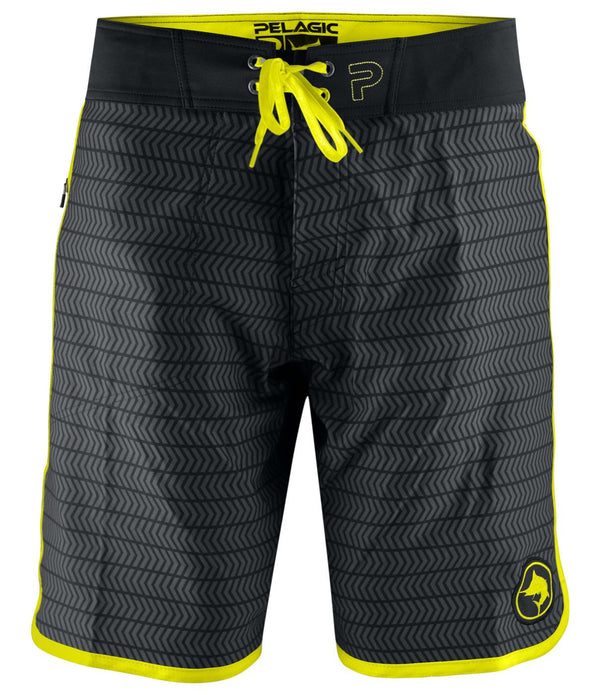 THE WEDGE BOARDSHORT BLACK SWERVE