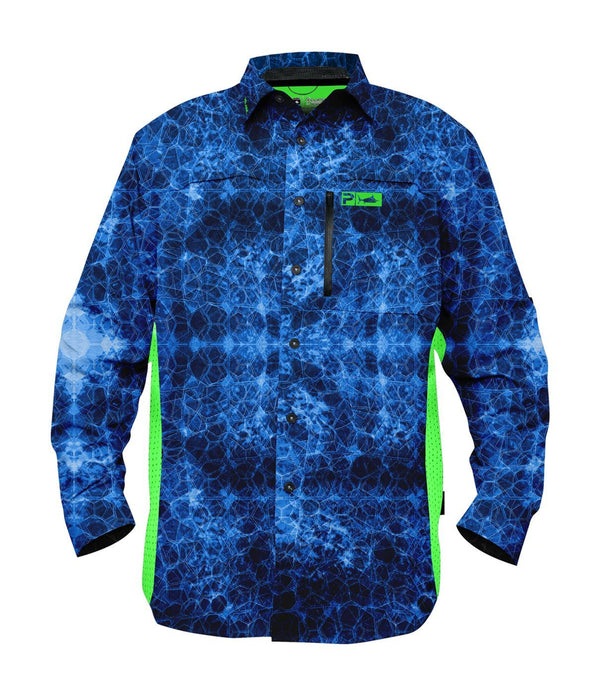 Pelagic Eclipse Guide Shirt - Pro Blue