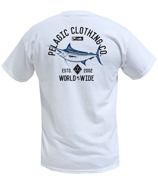 MARLIN NATION TEE - WHITE