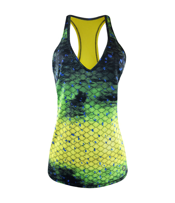 LIDO PERFORMANCE TANK - DORADO GREEN
