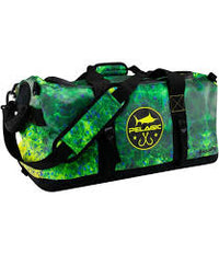 PELAGIC GEAR DUFFLE BAG AQUAPAK GREEN