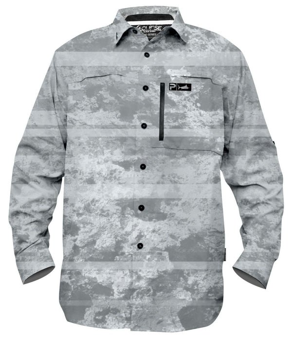 PRO SERIES GUIDE SHIRT CORAL CAMO WHITE