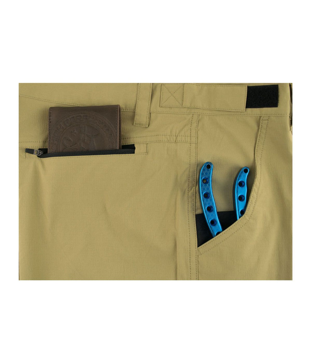 Pelagic Polaris Fishing Pant - Khaki