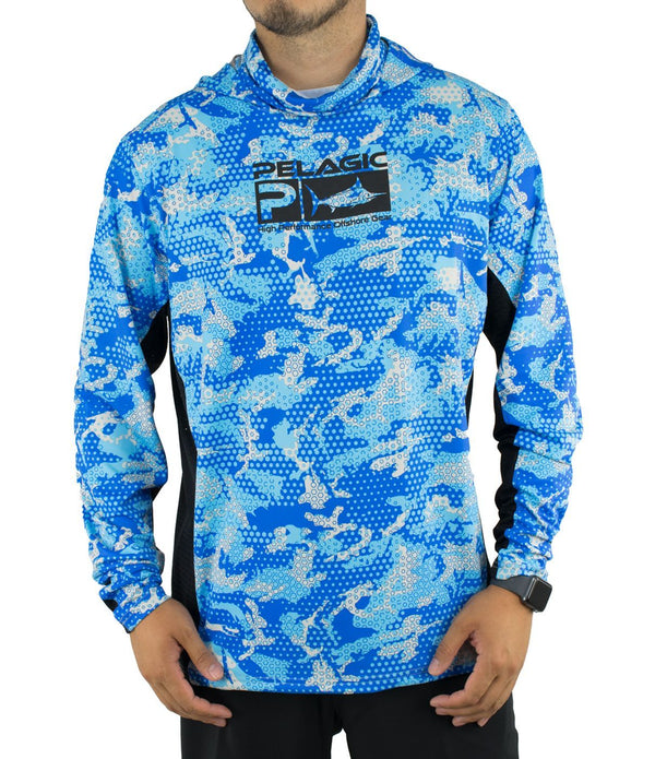 PELAGIC EXO TECH HOODY AMBUSH BLUE