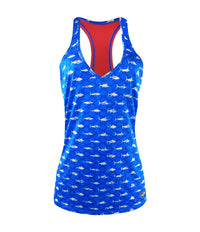 LIDO PERFORMANCE TANK - AMERICAMO BLUE