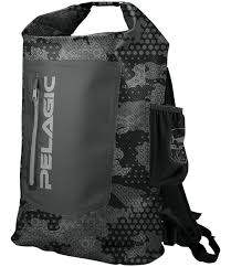 PELAGIC GEAR BACKPACK AQUAPAK BLACK