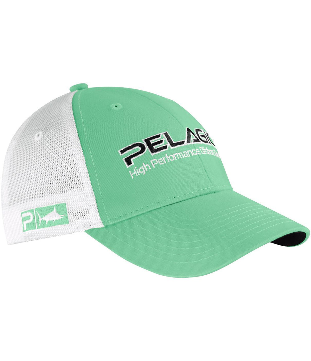 PELAGIC OFFSHORE CAP SOLID LIGHT GREEN