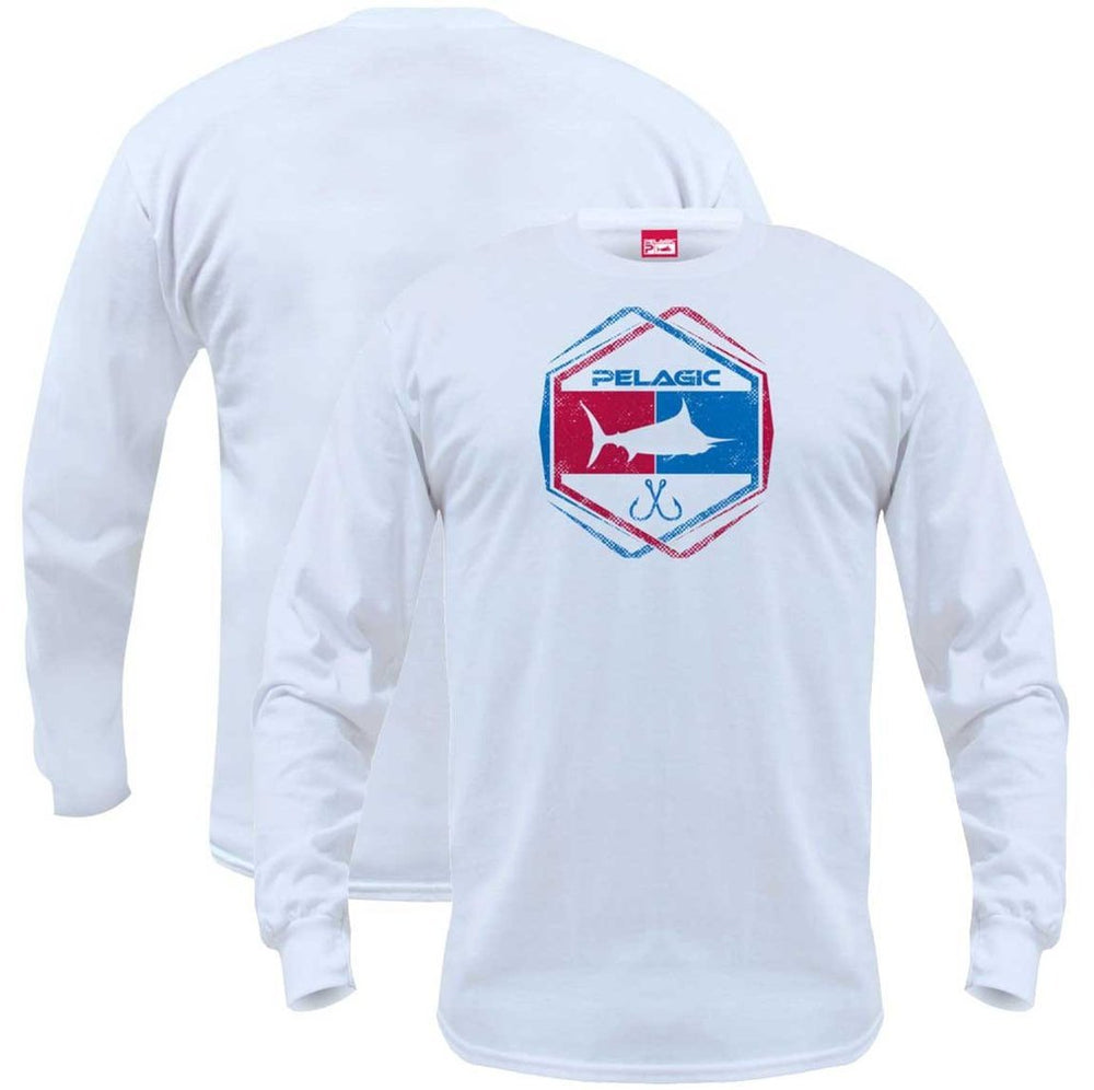 ATOMIC LONG SLEEVE WHITE
