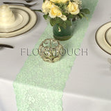 Mint Lace Table Runner Wedding Table Runner LM04