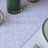 Lilac Lace Table Runner
