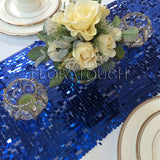 Royal Blue Sequin Table Runner