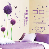 Dandelion Mural PVC Home Decor Wall Stickers FREE plus Shipping Offer - UYL Online Store