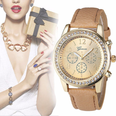Rhinestone Crystal Wrist Watch