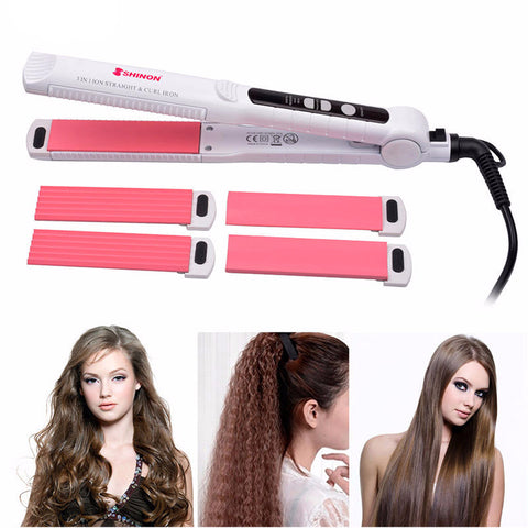 Ceramic Hair Curler & Straightener