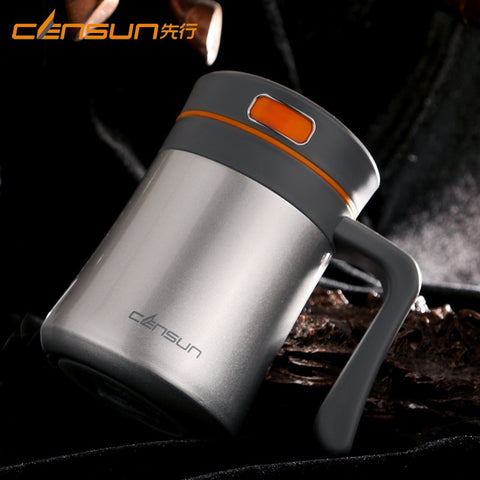 Antibacterial Stainless Steel Thermos Coffee Vacuum Flask