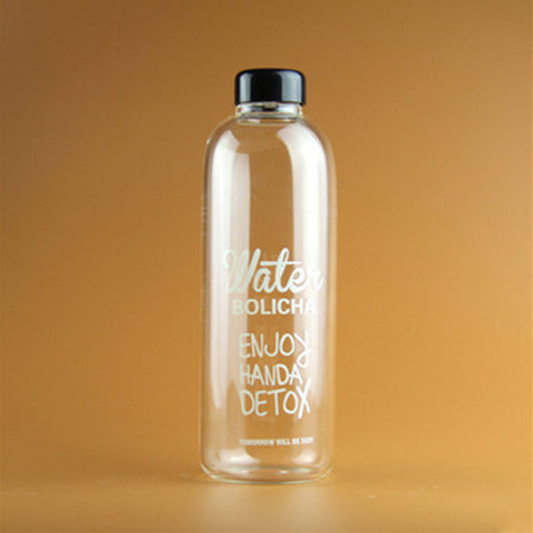 Fashion Creative Travel Glass Infuser Water Bottle - UYL Online Store