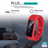 "Fashion Fitness Tracker for iPhone 6/5S Android Samsung Galaxy S6 S5 S4 Smart Wristband Pedometer 0.91"" OLED - UYL Online Store"