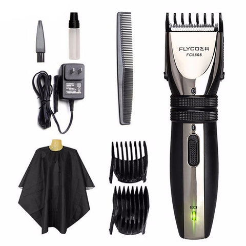 Professional Rechargeable Electric Hair Clipper